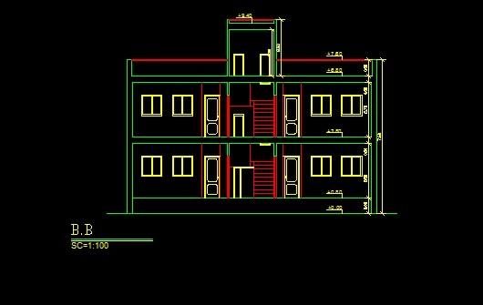 فایل اتوکد برش ساختمان مسکونی 2 طبقه کامل قابل ویرایش  فایل اتوکد برش ساختمان مسکونی 2 طبقه کامل قابل ویرایش 2014 4 18 15 54 42 170