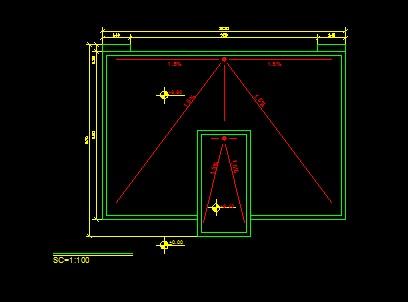 فایل اتوکد پلان بام ساختمان مسکونی 2 طبقه با شیب بندی کامل قابل ویرایش  فایل اتوکد پلان بام ساختمان مسکونی 2 طبقه با شیب بندی کامل قابل ویرایش 2014 4 18 15 54 55 664