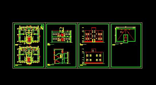 پروژه کامل اتوکد ساختمان ساختمان مسکونی 2 طبقه , دارای نما و برش قابل ویرایش  پروژه کامل اتوکد ساختمان ساختمان مسکونی 2 طبقه , دارای نما و برش قابل ویرایش 2014 4 18 15 54 58 940
