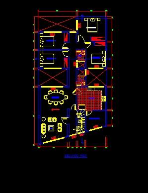 فایل اتوکد پلان معماری طبقه اول ساخمان با مبلمان کامل قابل ویرایش  فایل اتوکد پلان معماری طبقه اول ساخمان با مبلمان کامل قابل ویرایش 2014 4 18 15 55 1 498